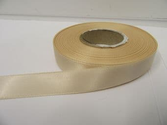 Nude Pale Beige Satin ribbon Double sided 3mm 7mm 10mm 15mm 25mm 38mm 50mm Roll Bow